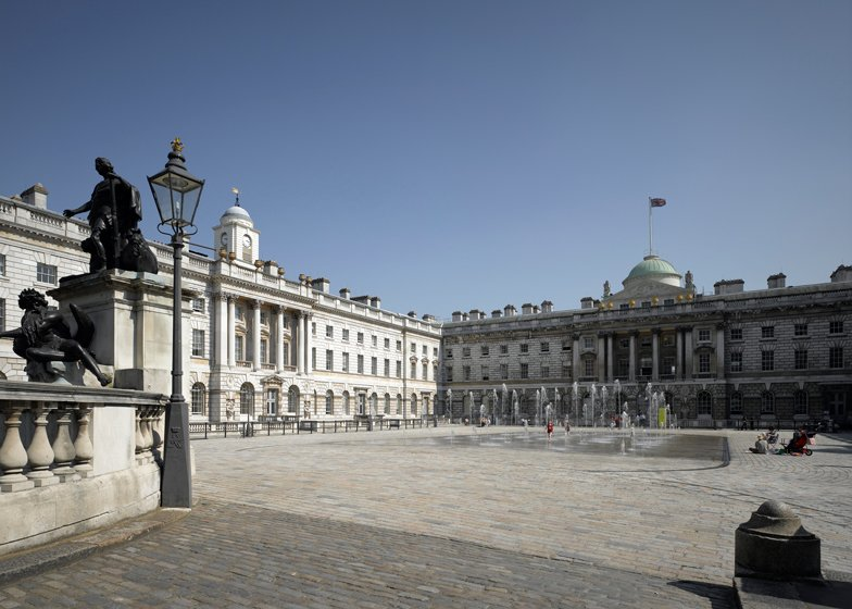 Somerset House courtyard