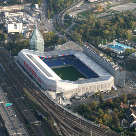 St Jacob-Park is home to Herzog &amp de Meuron's local team, FC Basel