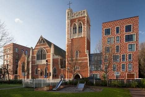 St Mary of Eton by Matthew Lloyd Architects