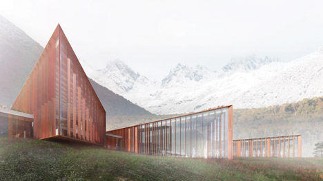 Sub-Antarctic Center by Ennead Architects and Cristian Sanhueza and Cristian Ostertag