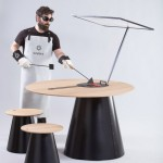 Solar cooking set by Lanzavecchia + Wai uses the sun's rays to barbecue