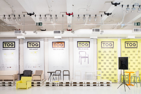 Triptyque design for TOG flagship store in Sao Paulo