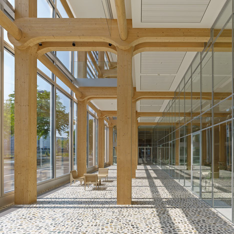 Tamedia New Office Building by Shigeru Ban
