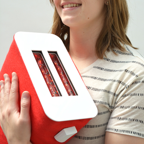 Ted Wiles creates huggable toaster for Involuntary Pleasures product range
