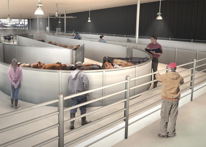 The ARK animal terminal at JFK by Gensler