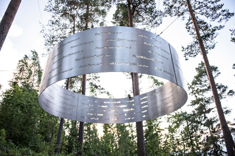 The Clearing, Memorial at Utøya by 3RW