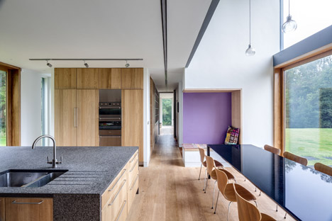 The Nook, Monmouthshire by Hall + Bednarczyk Architects