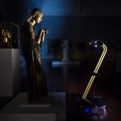 Fleet of robots by The Workers allow the public to explore galleries by night