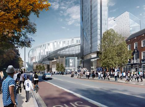 Tottenham Hotspur stadium by Populous