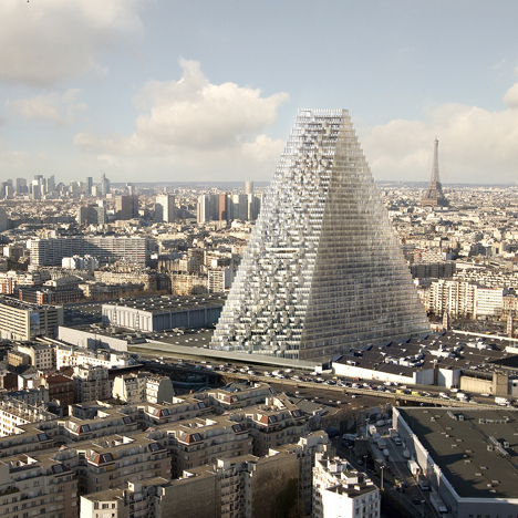 Tour Triangle Tower by Herzog &amp de Meuron
