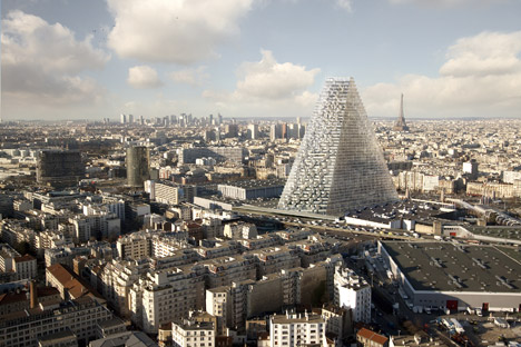 Tour Triangle skyscraper in Paris by Herzog & de Meuron