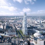Paris to get first skyscraper since the 70s as Herzog & de Meuron's triangle tower approved
