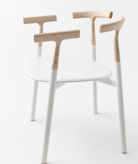 Twig chair for Alias by Nendo