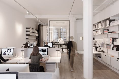 Uniform Wares offices by Feilden Fowles