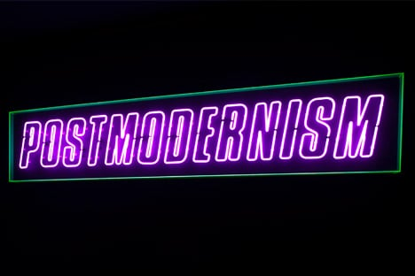 Postmodernism: Style and Subversion 1970 - 1990 exhibition at the V&A