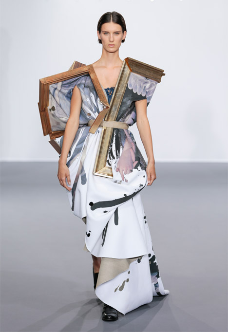 The Wearable Art collection by Viktor & Rolf AW15