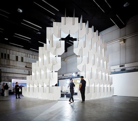World Architecture Festival exhibition designed by Populous