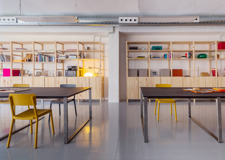 Zamness office, Barcelona by Nook Architects
