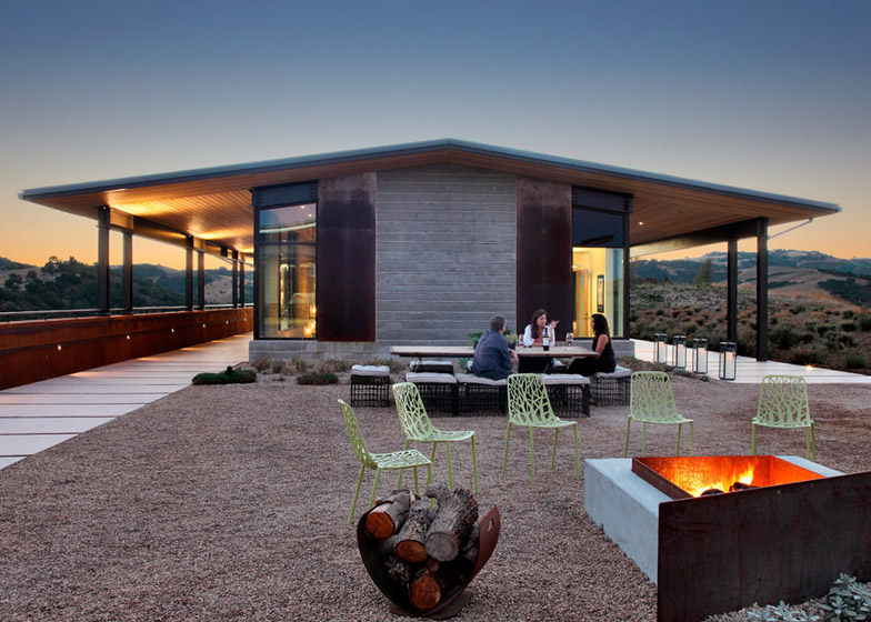 Law Winery near Paso Robles by BAR Architects