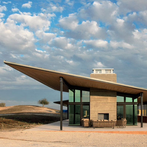 BAR Architects nestles a winery into a hilly California landscape
