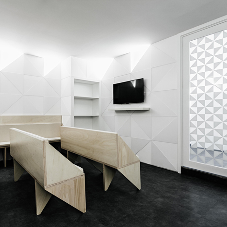 Amazing Tile Motif Creates Patterned Interior For Porto Dental Clinic By Ren Pepe  Arquitetos
