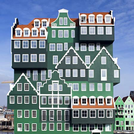 Zaandam hotel by Wilfried van Winden, WAM Architecten – Postmodernism revival