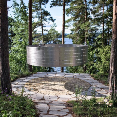 3RW's memorial for victims of Norwegian massacre opens on Utøya island