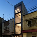 Rooms are less than two metres wide inside Tokyo house by YUUA Architects