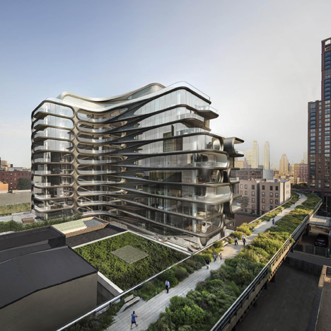 520 West 28th Street by Zaha Hadid