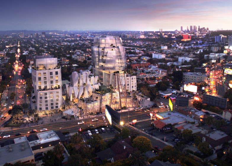 8150 Sunset Boulevard by Frank Gehry