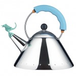 Alessi celebrates Michael Graves' 9093 kettle anniversary with dragon-shaped whistle
