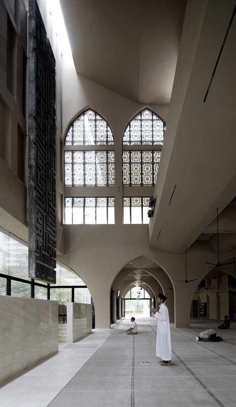 Al Islah Mosque by Formwerkz Architects