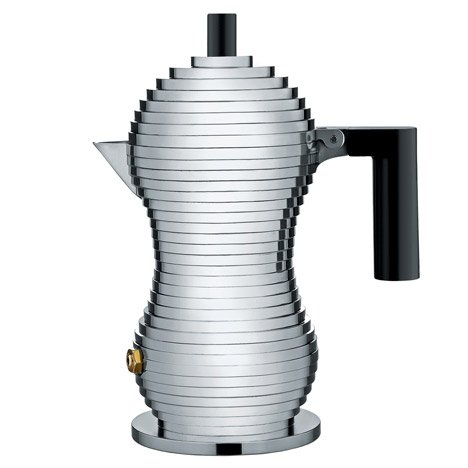 Alessi to launch Pulcina coffee maker by Michele de Lucchi