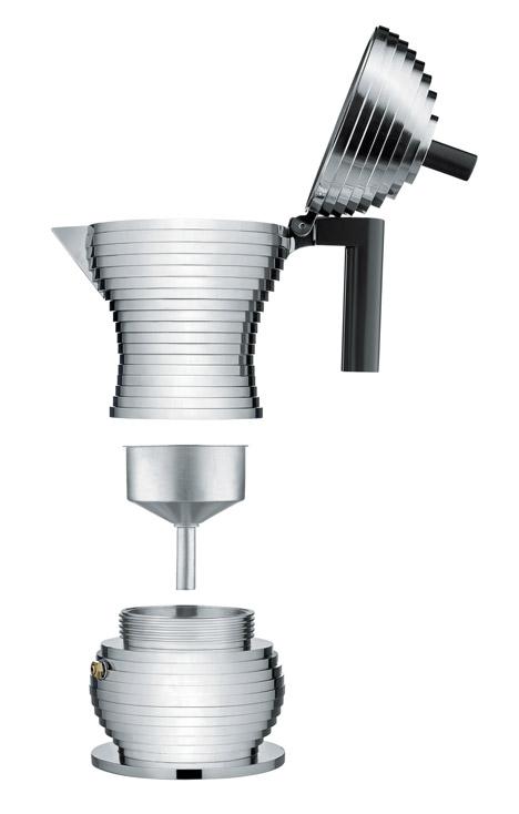 Michele de Lucchi coffee maker for Alessi
