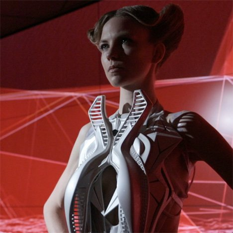 Annouk Wipprecht creates 3D-printed fashion collection for Audi