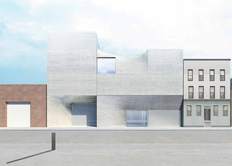 Artes Amant gallery in Brooklyn by SO-IL