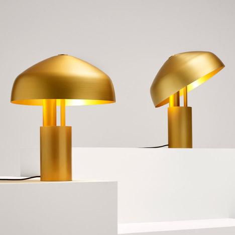 Aura lamp by Ross Gardam