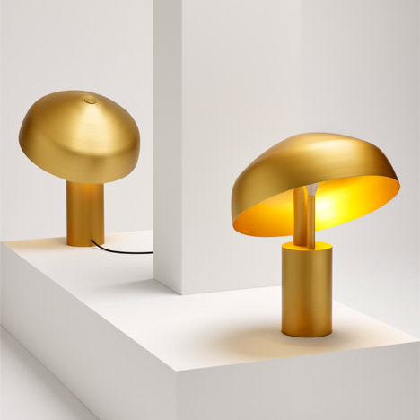 Aura lamp by Ross Gardam
