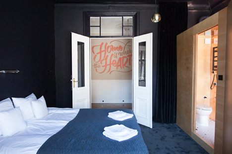 Autor Rooms hotel interiors by Mateusz Baumiller