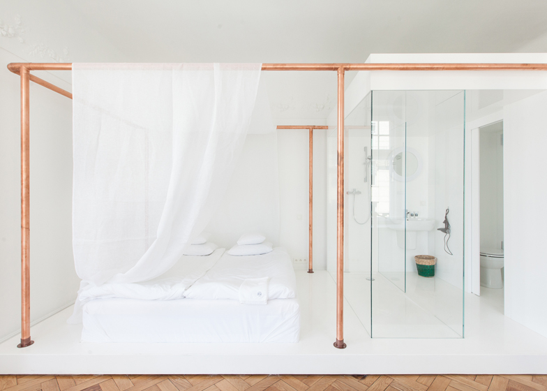 Autor Rooms hotel interiors by Mateusz Baumiller