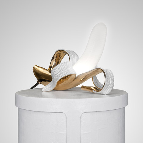 Banana lamp by Studio Job