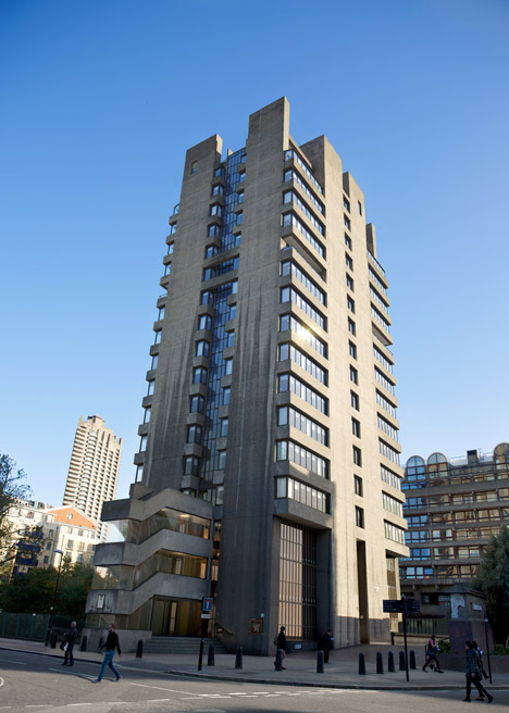 Barbican Blake Tower by Conran and Partners