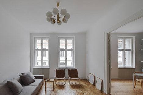 Berlin apartment interior by Atheorem