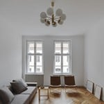 Atheorem refurbishes compact apartment in Berlin's Mitte district
