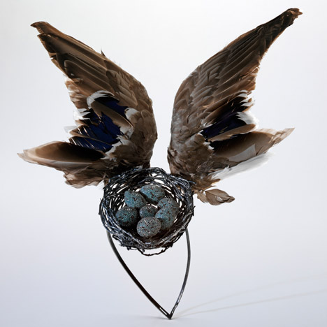 Bird Nest by Shaun Leane for Alexander McQueen. Image courtesy of the V&A