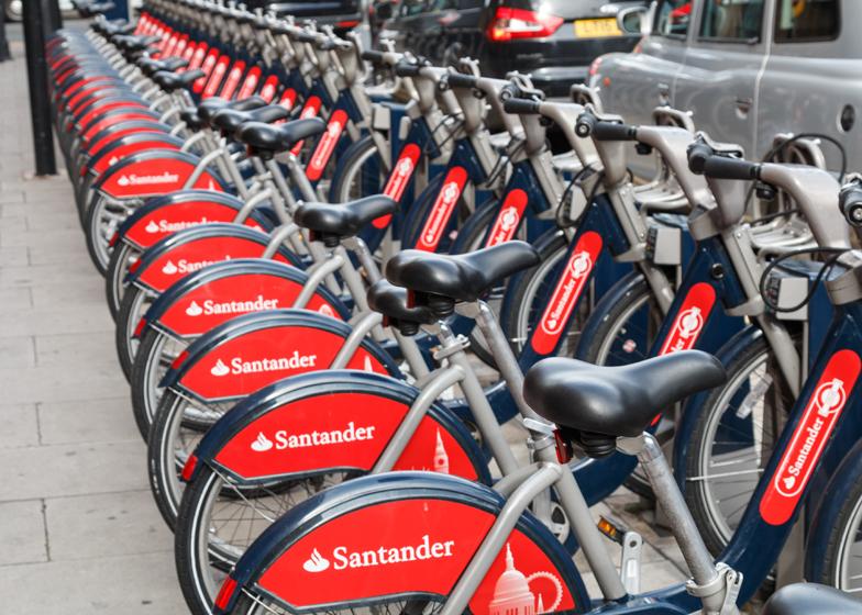 London Boris Bikes