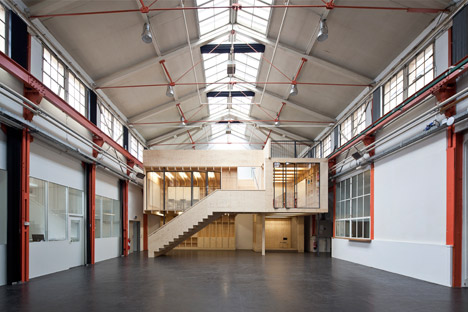 Burckhardt machine factory renovation by Stereo Architektur