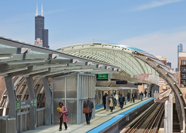 Cermak Station in Chicago by Ross Barney