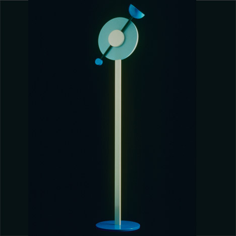 Martine Bedin's 1984 Charleston floor lamp
