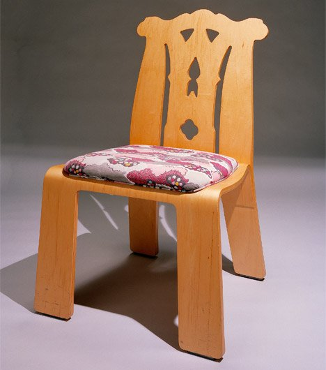 Chipendale Chair by Robert Venturi and Denise Scott Brown